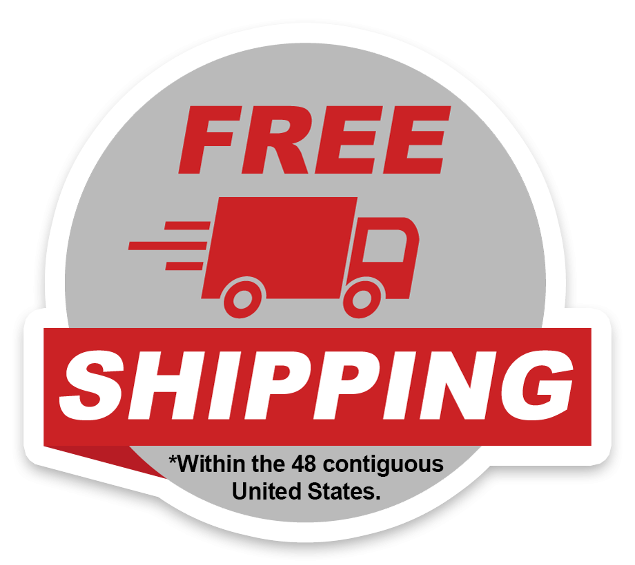 free shipping within the 48 contiguous United States